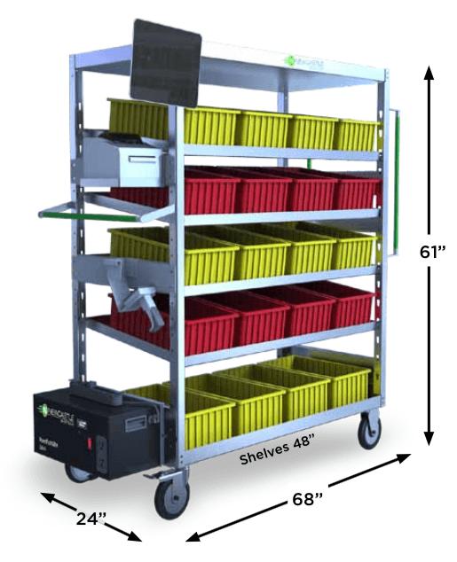 PowerPick Station™ Order Picking Cart